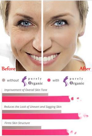 Purely Organic Release Cream And Purely Organic Pure Eyes Serum